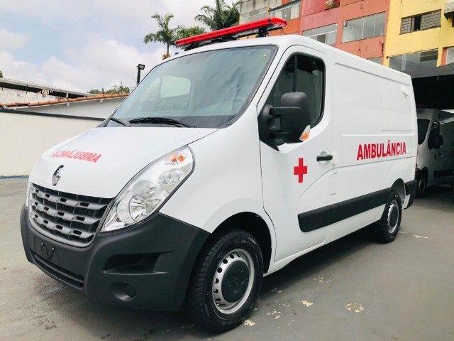Renault Master Ambulância L1H1 Simples Remoção 2022