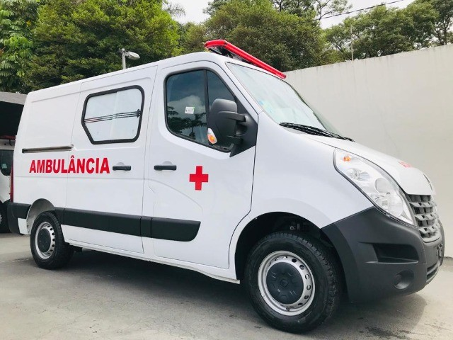 Renault Master Ambulância L1H1 Simples Remoção 2022 - Foto 3