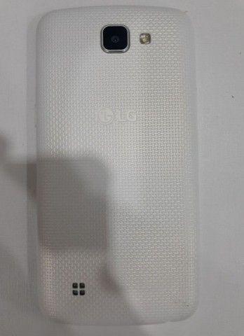 Celular LG K4 seminovo branco - Foto 2