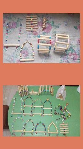 Acessorios e playground pra aves em geral - Foto 6