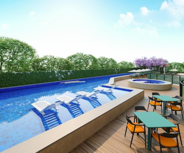 Apartamento com 3 dormitórios à venda, 113 m² por R$ 732.388,00 - Parquelândia - Fortaleza - Foto 6
