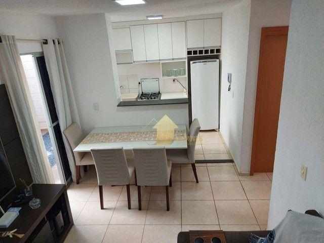 Apartamento com 2 dormitórios à venda, 40 m² por R$ 165.000,00 - Chácara dos Pinheiros - C - Foto 2