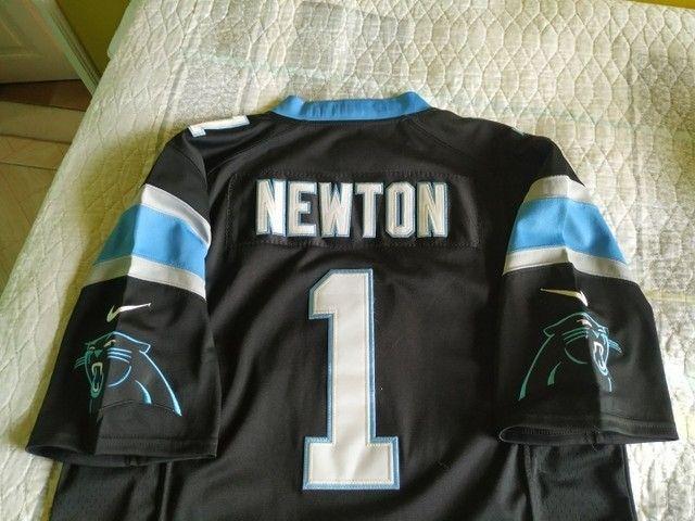 Camisa Nike Carolina Panthers (Cam Newton #1)