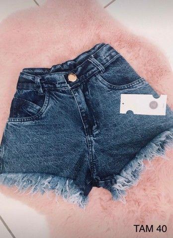 Shorts Jeans Feminino - Foto 3