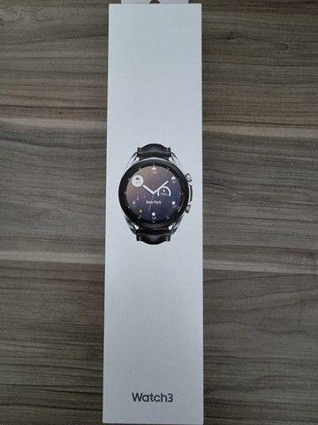 Smartwatch Samsung Galaxy watch 3 - Prata - 41 mm