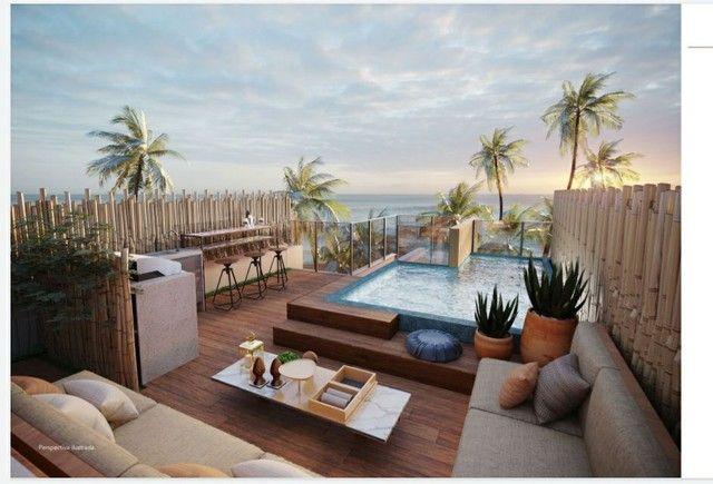 Cais Roof top seu lar de praia à beira-mar em Muro Alto - Foto 12