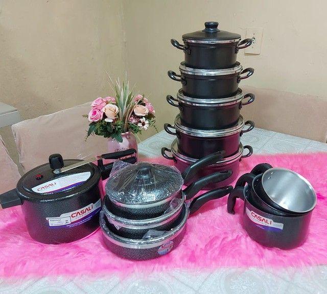 Kit cozinha completo 12 peças por $340 avista - Foto 2