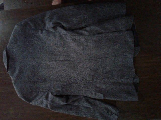 Blazer masculino cinza - Foto 3