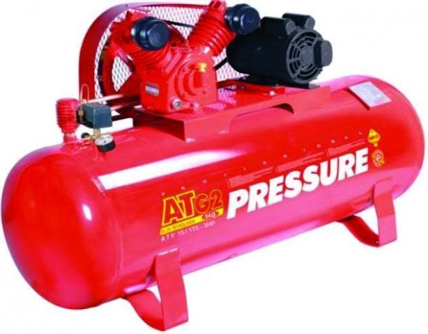 Compressor 15 pés 175 litros 140 libras - Pressure