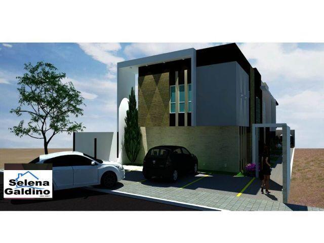 Duplex com 3 quartos e Beco, em fase final de acabamento