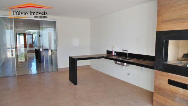 Espetacular! Condomínio privilegiado, moderna em Vicente Pires - Foto 12
