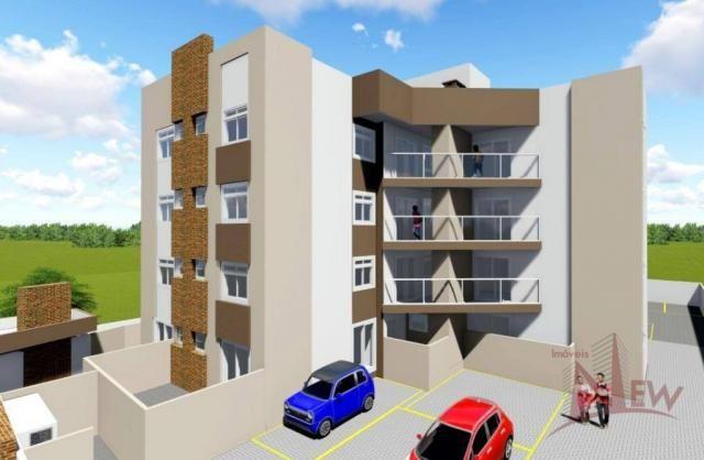 Apartamento 02 quartos no Pedro Moro, São José dos Pinhais - Foto 5