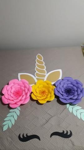 Flores / Flor de papel - Foto 2