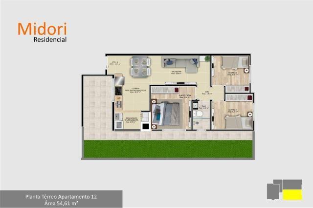 Apartamento 3 dormitórios em São José dos Pinhais - Foto 7