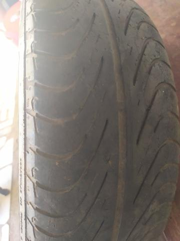 Vendo pneu Aro 14 perfuração 4/108 ZAP - Foto 2