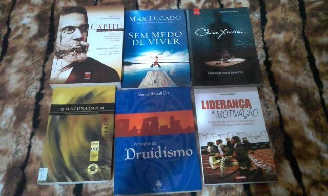 Livros variados literário