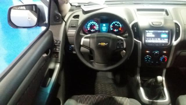 Chevrolet S10 cd 2.8 LT 4x4, MT 2016 prata - Foto 9