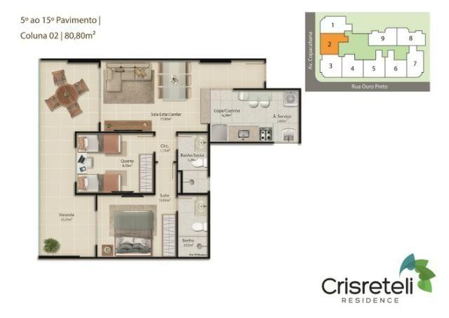 Lançamento apartamentos de 2 quartos na Praia do Morro - Foto 6
