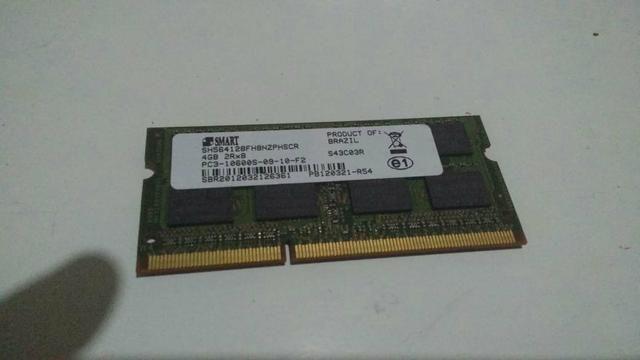 Memória RAM ddr 3 4g da marca (smart )
