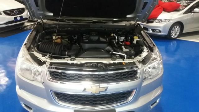 Chevrolet S10 cd 2.8 LT 4x4, MT 2016 prata - Foto 15