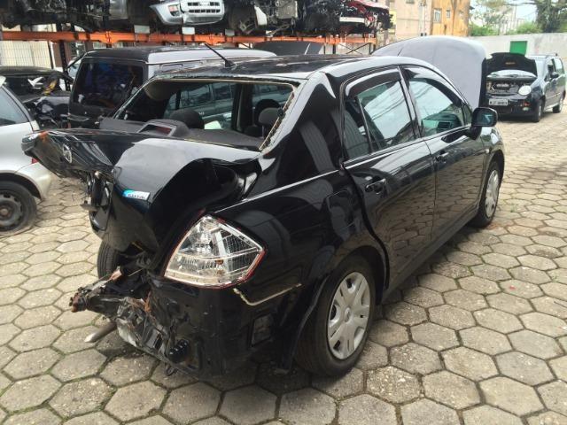 Sucata Nissan Tiida Sedan 2011/2012 - Venda De Peças - Foto 3