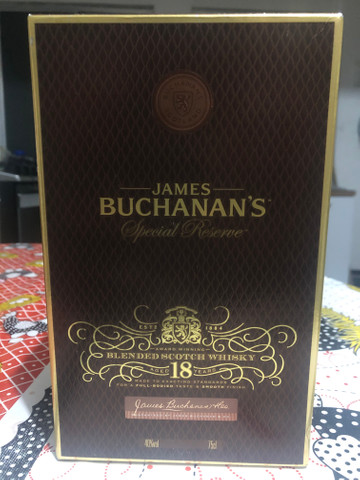 James Buchanan?s Whisky 18 anos Special Reserve