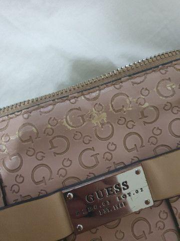 Bolsa rosa original guess - Foto 4