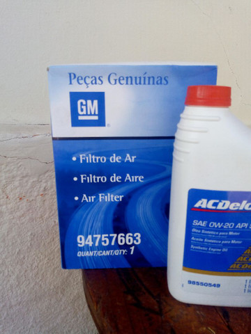 Prisma e Onix, óleo, filtro e filtro de ar - Foto 3