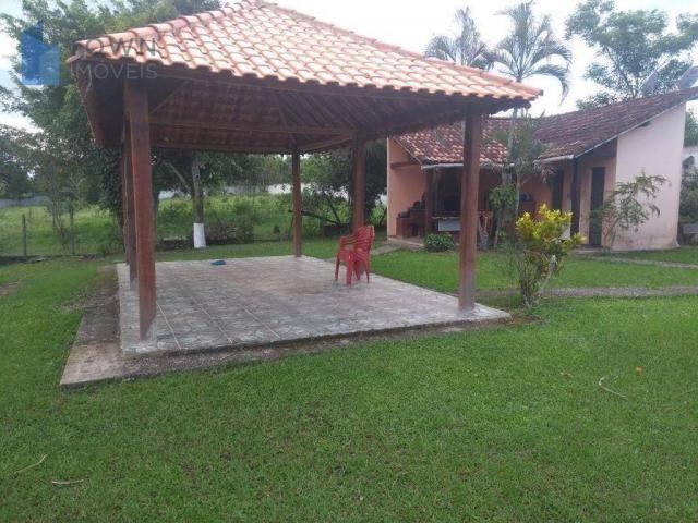 Chácara com 2 dormitórios à venda, 10000 m² por R$ 450.000 - Caluge - Itaboraí/RJ - Foto 4