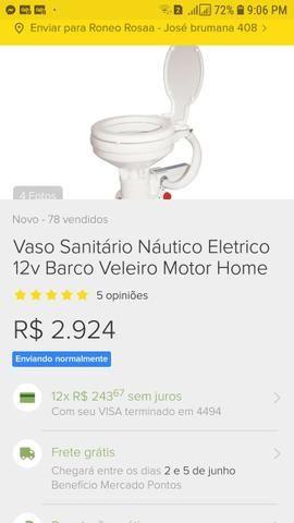 Sanitário pra lancha - Foto 7