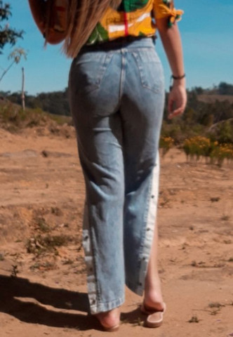 Calça pantalona  - Foto 2