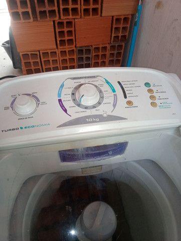 Vendo máquina de lavar eletrolux 10kg - Foto 4