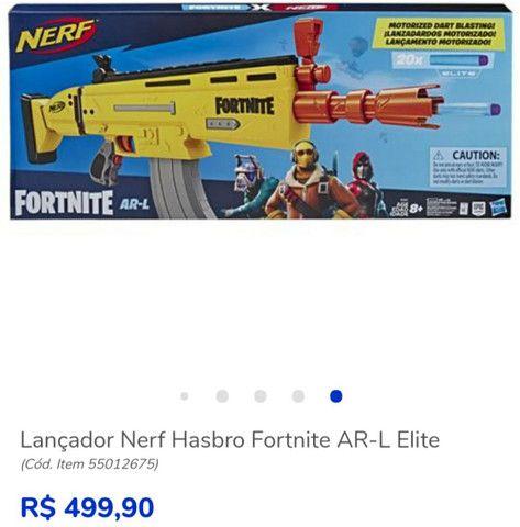 Lançador De Dardos Motorizado Hasbro Nerf Fortnite Ar-l - Foto 2