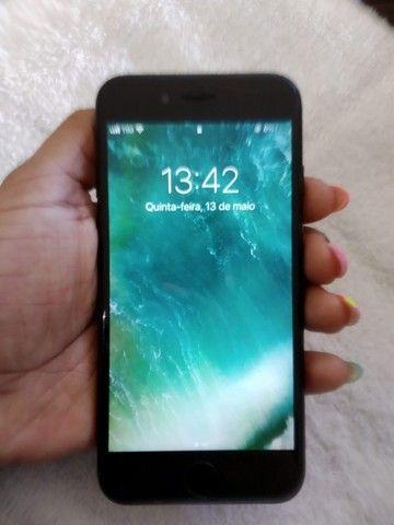 Iphone 7 Black 128gb, não é 32gb. É 128GB gente! - Foto 2