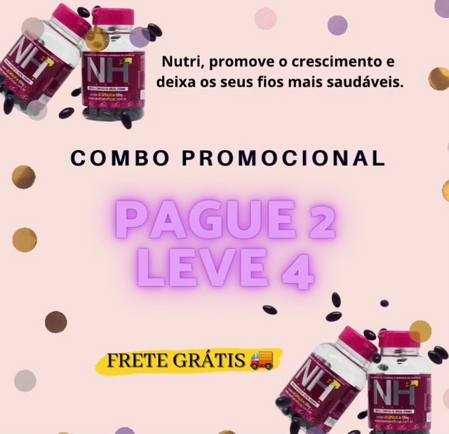 COMBO NEW HAIR - PAGUE 2 LEVE 4 - Foto 2