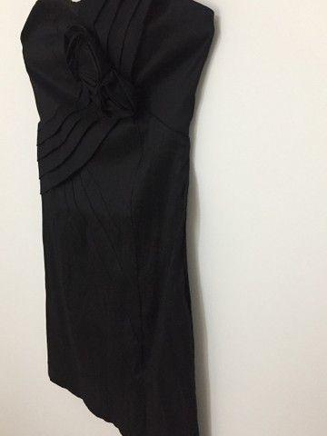Vestido de festa (preto básico) - Foto 4