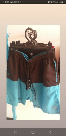 Shorts mauricinho impermeável - Foto 2
