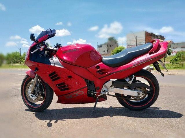Moto Esportiva Suzuki Rf900r Vermelha<br><br> - Foto 2
