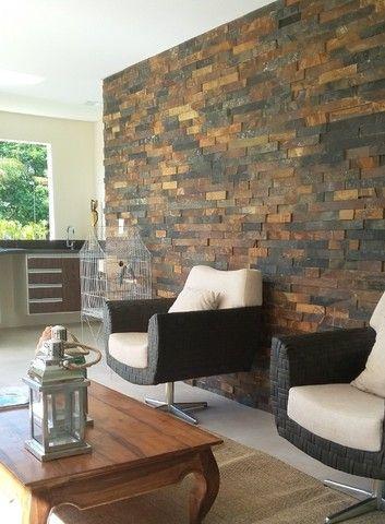 Filete de Pedra Ferro Basalto 5cm Natural DoMeuGosto  Pisos e Revestimentos - Foto 4