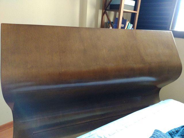 Cama Queen Castor de madeira  - Foto 3