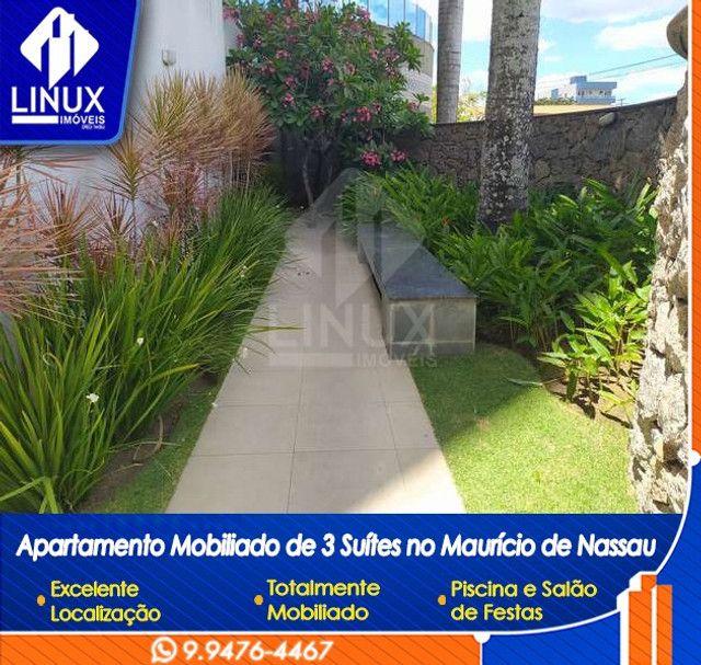 Alugo Apartamento mobiliado de 04 quartos (03 suítes), em Caruaru/PE - Foto 16