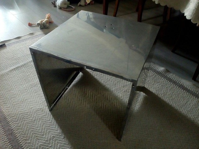 Peça de aço inox 3 lados - Foto 3