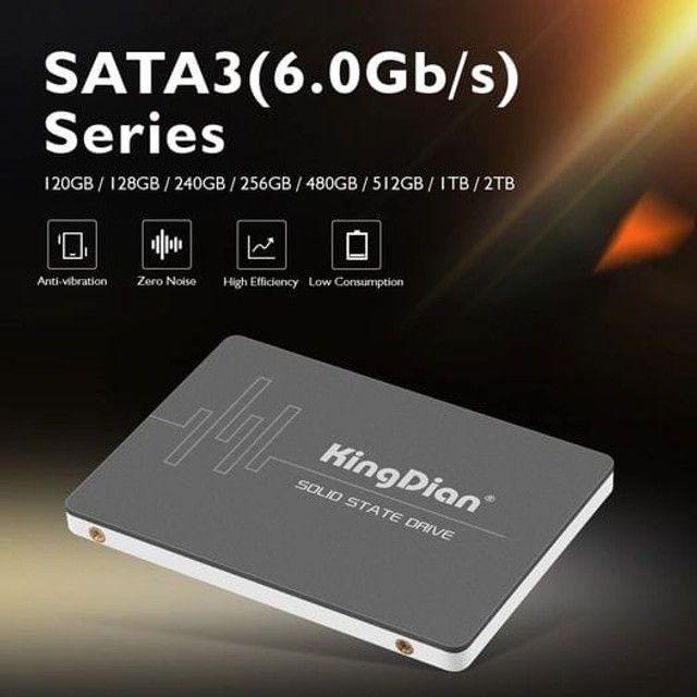 Ssd KingDian 120gb / 128gb / 240gb / 256gb Sata III - Notebook e PC Gamer - Foto 5