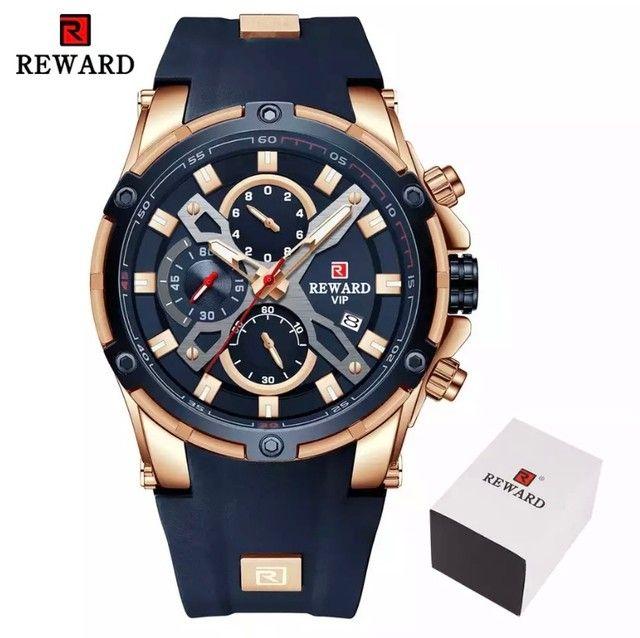 Relógio Masculino Importado Original Reward Super Premium   - Foto 2