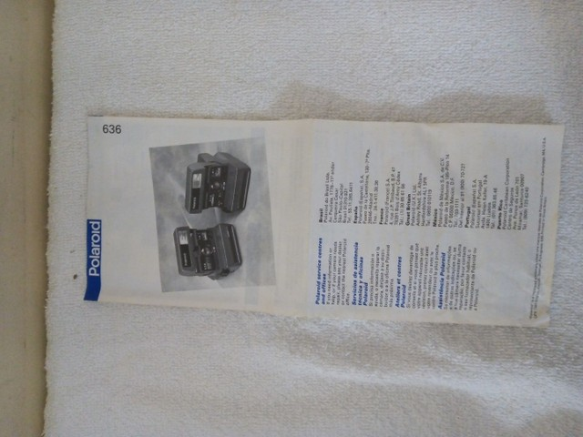Máquina fotográfica polaroid antiga - Foto 2