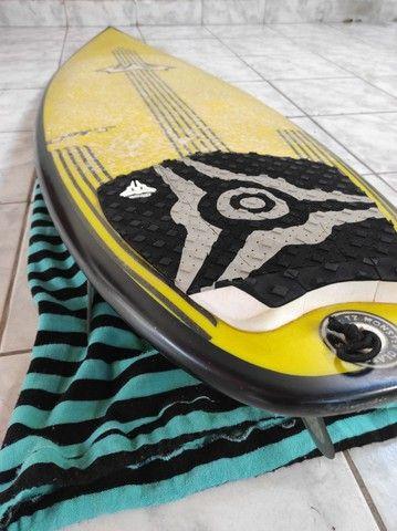 Prancha de Surf Reis FIT 6'0 36.8lts + Quilhas M5 Fibra + Leash 30pés