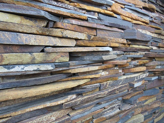 Filete Ponta de Serra Pedra Ferro Basalto Revestimento Natural Parede Promoção DoMeuGosto  - Foto 6
