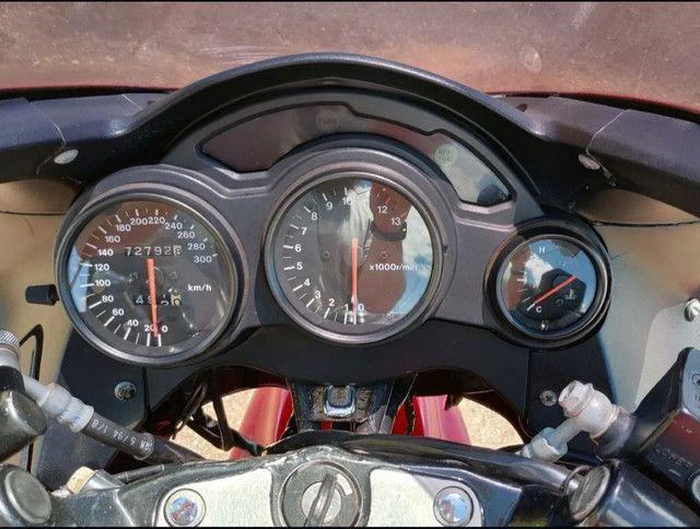 Moto Esportiva Suzuki Rf900r Vermelha<br><br> - Foto 14