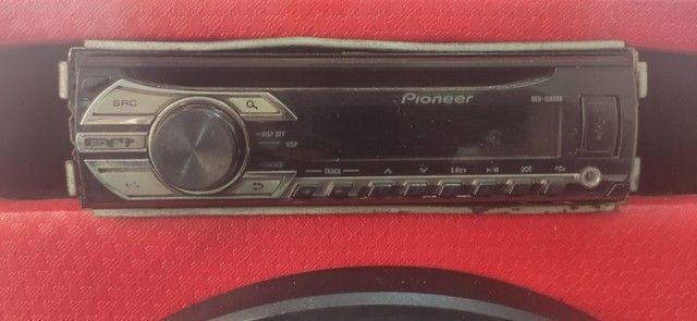 Auto rádio Pioneer + controle de distância