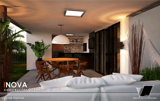 Luxuosa Casa com piscina no Jardins do lago 4 suites #ce11 - Foto 3